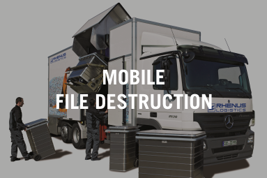 Mobile file destruction